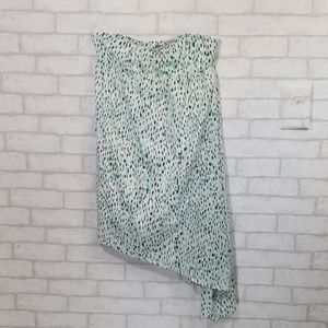 Volcom strapless asymmetrical dress/tunic small